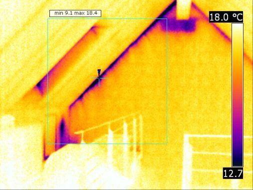 Luftundichtigkeit eines nachträglich errichteten Dachgeschosses